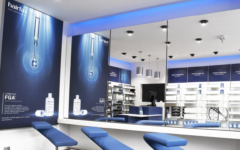 Photo Institut Hairfax Paris Champs-Élysées